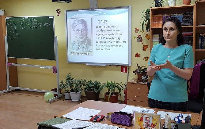 Заседание открытой предметной кафедры учителей гуманитарного цикла.