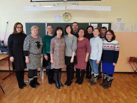 Заседание открытой предметной кафедры учителей истории и обществознания